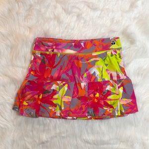 Trina Turk Recreation Pink Orchid Sports skirt